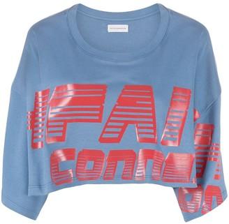 Faith Connexion Shuko graphic-print sweatshirt