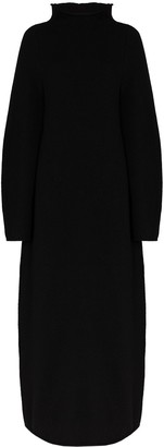 Jil Sander High-Neck Maxi Dress