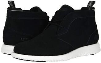 UGG Union Chukka Suede (Black) Men's Shoes