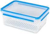 Zyliss Fresh Plastic Rectangle Food Storage With Draining Plate, 3.7L