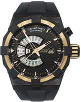 Concord C1 World Timer 01.6.78.1016 Stainless Steel / Rubber Automatic 47mm Mens Watch