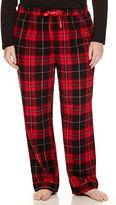 Liz Claiborne Flannel Pants - Plus