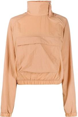 Reebok x Victoria Beckham Funnel-Neck Logo Jacket