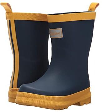 Hatley Kid's Color Block Rain Boots (Toddler/Little Kid) (Pink/Navy) Girls Shoes