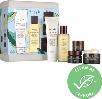 Fresh Black Tea Firming Skincare Gift Set