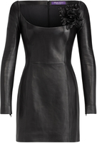 Ralph Lauren Charlotta Leather Dress