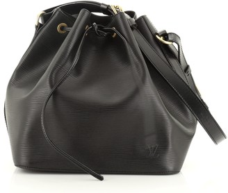 Louis Vuitton Petit Noe Handbag Epi Leather