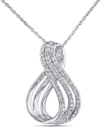 Rina Limor Fine Jewelry 10K Gold 0.25 Ct. Tw. Diamond Pendant Necklace