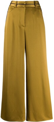 Peter Pilotto Cropped Wide Leg Trousers