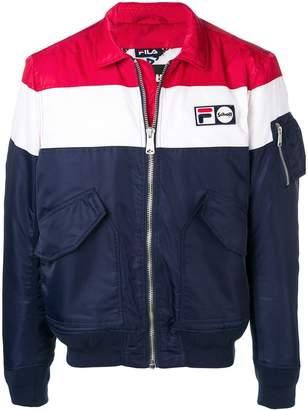 Fila Schott x bomber jacket