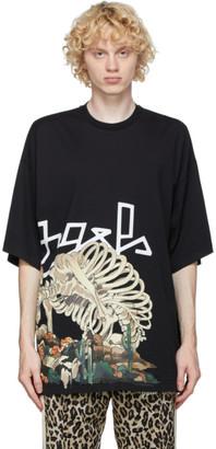 Palm Angels Black Oversized Desert Skull T-Shirt