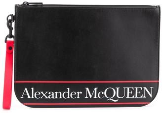 Alexander McQueen Logo Clutch Bag