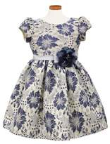 Sorbet Toddler Girl's Floral Lace Dress