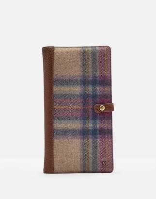 Joules Highflyer Tweed Travel Wallet