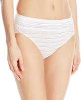Warner's Warners Women's No Pinching. No Problems. Cotton with Lace Hi-Cut Brief
