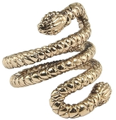 Jewelry Double Snake Head Ring