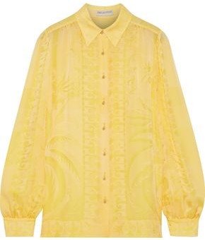 Emilio Pucci Silk-jacquard Shirt