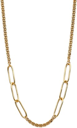 AJOA Lynx Mixed Link Chain Necklace