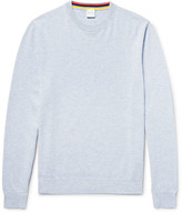 Paul Smith - Mélange Cashmere, Cotton and Wool-Blend Sweater
