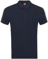 BOSS ORANGE Plainer Polo T Shirt Blue