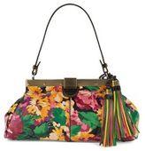 Patricia Nash Ferrera Leather Framed Shoulder Bag
