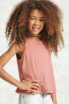 Forever 21 FOREVER 21+ Girls Faux Suede Top (Kids)