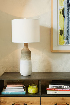 Anthropologie Juneau Table Lamp By in Beige Size ALL