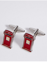 M&S Collection Letter Box Cufflinks