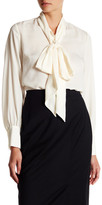 Canvas by Lands' End Canvas by Lands& End Bow Tie Blouse