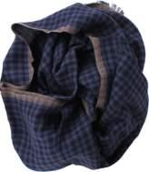 Brunello Cucinelli Cashmere Silk Check Scarf