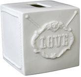 'Druggist' Ceramic Tissue Box Cover
