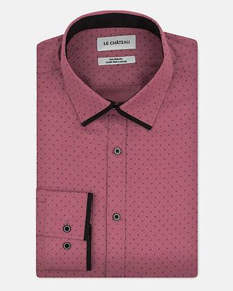 Le Château Tonal Cotton Blend Tailored Fit Shirt