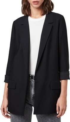 AllSaints Aleida Open Front Blazer