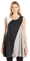 Neon Buddha Women's Gloria Sleeveless Color Block Tunic