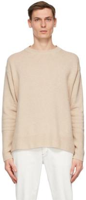 Stella McCartney Beige Shared Regenerated Cashmere Sweater