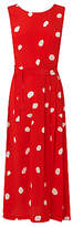 LK Bennett L.K.Bennett Penny Silk Dress, Red
