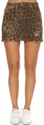 R 13 High Rise Mini Skirt