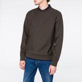 Paul Smith Men's Charcoal Grey Organic Loopback-Cotton Sweatshirt