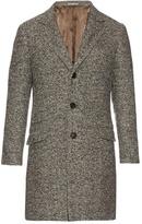 Brunello Cucinelli Wool And Cashmere-blend Herringbone Coat