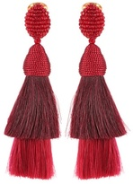 Oscar de la Renta Clip-on earrings
