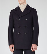 Reiss Bravo Double-Breasted Peacoat