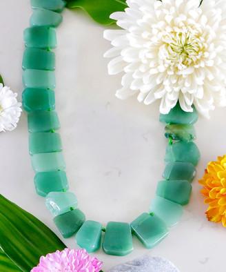 Katherine Winters Women's Necklaces Green - Green Aventurine Amita Statement Necklace