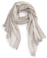 Caslon Stripe Wool Scarf