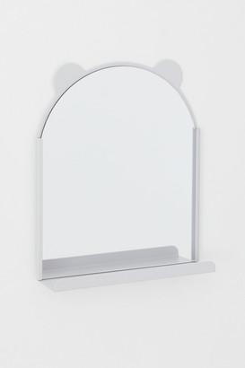 H&M Mirror with Shelf