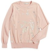 Stella McCartney Girl's Kimberly Sequin Sweater