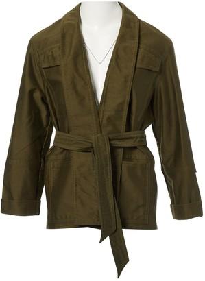 Isabel Marant Khaki Cotton Jackets