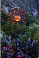 Bed Bath & Beyond Burnished Sun Solar Garden Stake