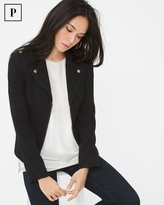 White House Black Market Petite Moto Jacket