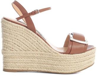 Sergio Rossi Sr Prince Wedges Sandals