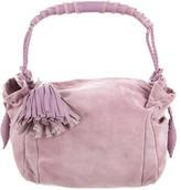 Bottega Veneta Suede Handle Bag
